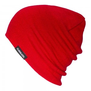 Basic Beanie - Red Chili