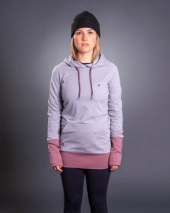 Bluza Damska Feather Pullover Hoodie - Shark